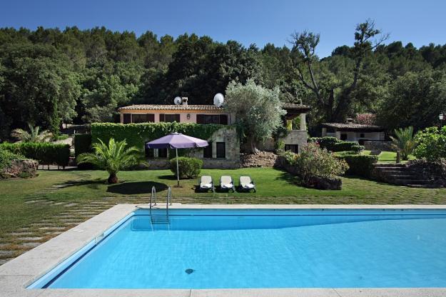 villas with swimming-pool in Pollensa/villa104
